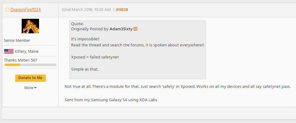 Xposed fails safetynet.png